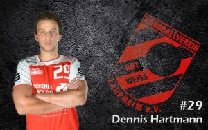 Dennis Hartmann war mit sieben Treffern bester Schütze des HRW.